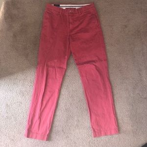 Ralph Lauren Red Chino Pants